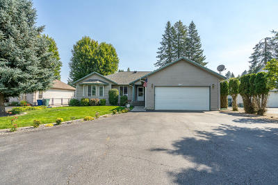 Hayden Single Family Home For Sale: 11746 N Strahorn Rd