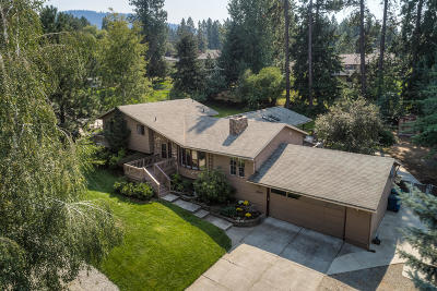 Coeur D'alene Single Family Home For Sale: 2340 E Hayden View Dr