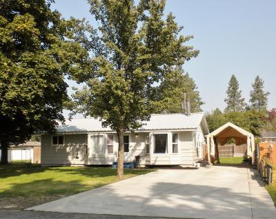 Hauser Lake, Post Falls Single Family Home For Sale: 615 E 10th Ave