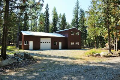Bonners Ferry Single Family Home For Sale: 414 Fortyniner Rd