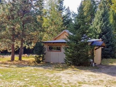 Bonners Ferry Single Family Home For Sale: 533586 Us-95