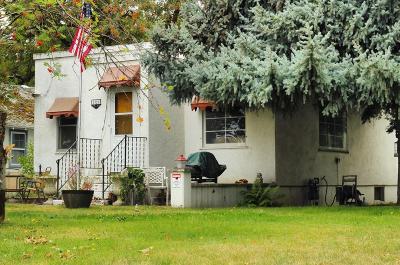 Coeur D'alene Single Family Home For Sale: 1321 N 3rd St
