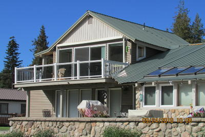 Priest Lake, Priest River Condo/Townhouse For Sale: 3 Beach St