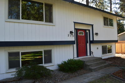 Post Falls Single Family Home For Sale: 219 S Cottonwood Ct