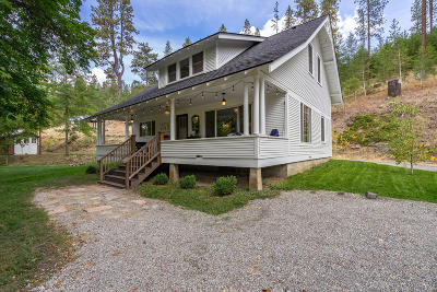 Coeur D'alene Single Family Home For Sale: 5772 S Stach Rd