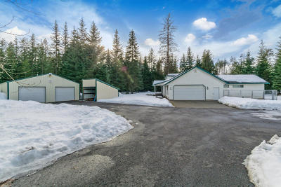Rathdrum Single Family Home For Sale: 5448 W Elkhorn Rd