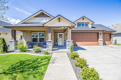 Coeur D'alene Single Family Home For Sale: 6933 N Gassendi Drive