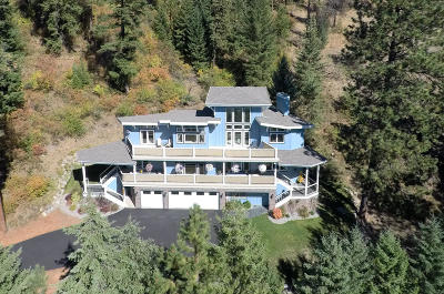 Coeur D'alene Single Family Home For Sale: 9475 E Coeur D Alene Lake Dr
