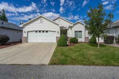 Hauser Lake, Post Falls Single Family Home For Sale: 2411 N Settlement Trl