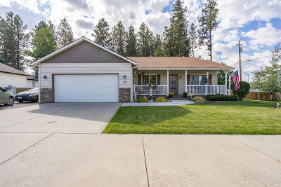 Coeur D'alene Single Family Home For Sale: 1576 W Wilbur Ave