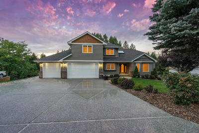 Coeur D'alene Single Family Home For Sale: 8269 N Westview Dr