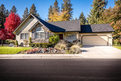 Coeur D'alene Single Family Home For Sale: 2809 White Pines Drive
