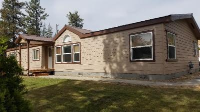 Rathdrum Single Family Home For Sale: 15219 N Stevens St