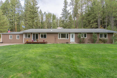 Coeur D'alene Single Family Home For Sale: 5196 S Stach Rd