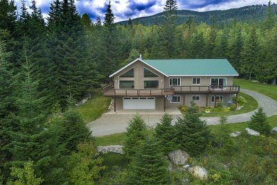 Sandpoint Single Family Home For Sale: 13433 -13435 Baldy Mountain Rd
