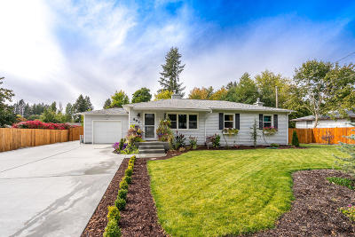 Coeur D'alene Single Family Home For Sale: 607 N 12th St