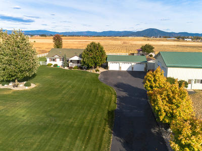 Post Falls Single Family Home For Sale: 8362 N Meyer Rd