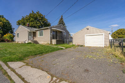 Coeur D'alene Single Family Home For Sale: 2004 N 7th St