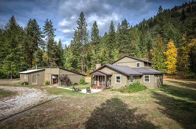 Sandpoint Single Family Home For Sale: 3907 Upper Pack River
