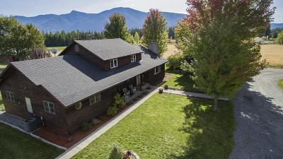 Bonners Ferry Single Family Home For Sale: 1905 Paradise Valley Rd