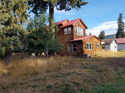 Clark Fork ID Single Family Home For Sale: $125,000
