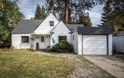 Coeur D'alene Single Family Home For Sale: 708 N 17th St