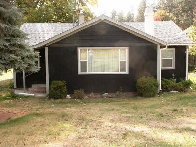 Bonners Ferry Single Family Home For Sale: 7516 Benewah St