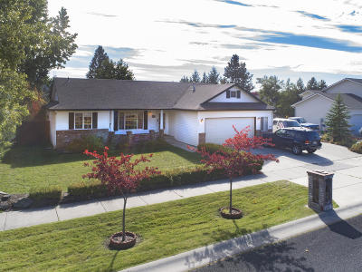 Coeur D'alene Single Family Home For Sale: 2082 E Greenleaf Ln