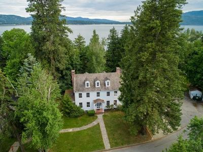 Sandpoint Single Family Home For Sale: 501 Lakeview Blvd.
