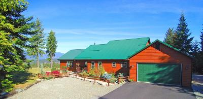 Bonners Ferry Single Family Home For Sale: 125 Cottage Ln