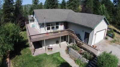 Coeur D'alene Single Family Home For Sale: 908 S Meyers Hill Rd