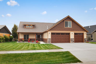 Rathdrum Single Family Home For Sale: 13709 N Pristine Cir