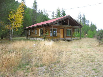 Priest Lake, Priest River Single Family Home For Sale: 26980 Highway 57