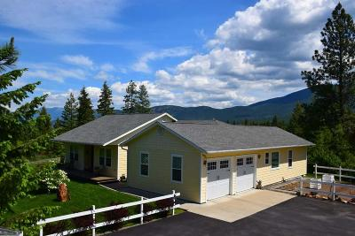 Bonners Ferry Single Family Home For Sale: 695 Pinnacle Cir