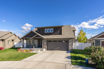 Coeur D'alene Single Family Home For Sale: 7815 N Goodwater Loop