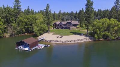 Hayden, Hayden Lake Single Family Home For Sale: 7566 E Gem Shores Rd