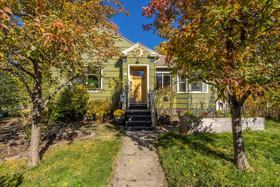 Coeur D'alene Single Family Home For Sale: 803 E Hastings Ave