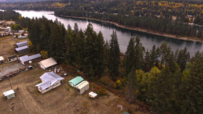 Priest Lake, Priest River Single Family Home For Sale: 3466 Hwy 2