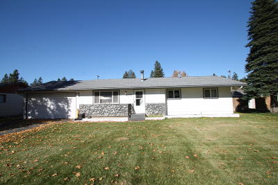 Hauser Lake, Post Falls Single Family Home For Sale: 609 E 10th Ave