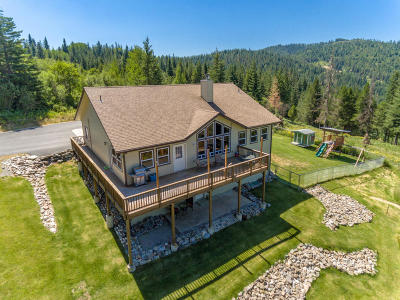 Shoshone County Single Family Home For Sale: 833 Drummond Peak