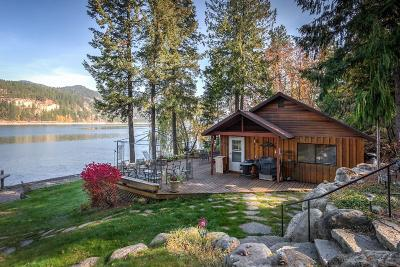 Priest Lake, Priest River Single Family Home For Sale: 177 Erics Haven