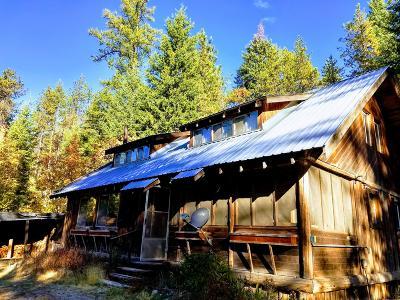 Bonner County, Kootenai County Single Family Home For Sale: 1055 Kreiger Creek Rd
