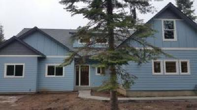 Shoshone County Single Family Home For Sale: 114 Blazing Saddle
