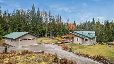 Sandpoint Single Family Home For Sale: 2423 Flume Creek Road