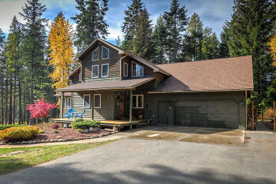 Hayden, Hayden Lake Single Family Home For Sale: 4700 E Hudlow Rd