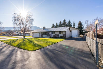 Coeur D'alene Single Family Home For Sale: 653 S Kelly Rd