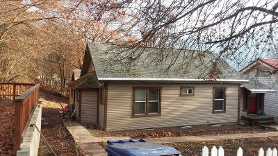 Kellogg Single Family Home For Sale: 611 Chestnut