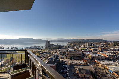 Coeur D'alene Condo/Townhouse For Sale: 601 E Front Ave #1601