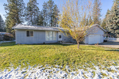 Rathdrum Single Family Home For Sale: 14901 N Boxwood St
