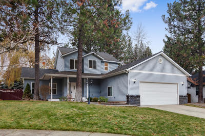 Coeur D'alene Single Family Home For Sale: 5487 N Martha Loop